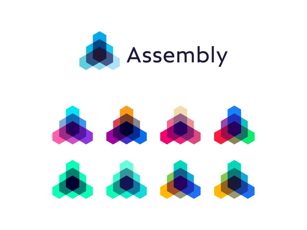 Assembly Open Source Technology Framework Protocol Logo Design By Alex Tass 4x Png