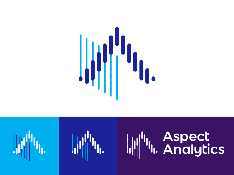 Aspect Analytics Logo Design For Biomedical It Tools By Alex Tass Png