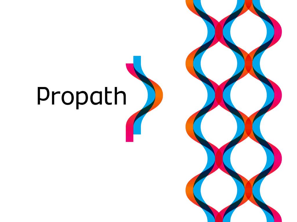 Propath P Pp Letter Mark Monogram Dna Strand Logo Design By Alex Tass 4x Png